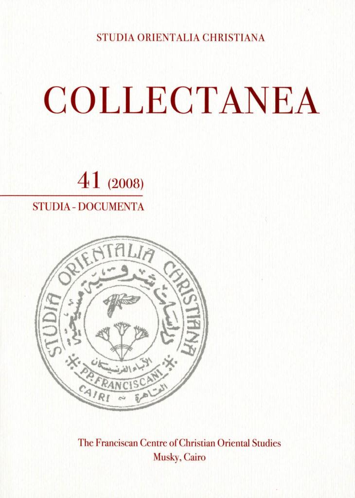 SOC – Collectanea 41 (2008)