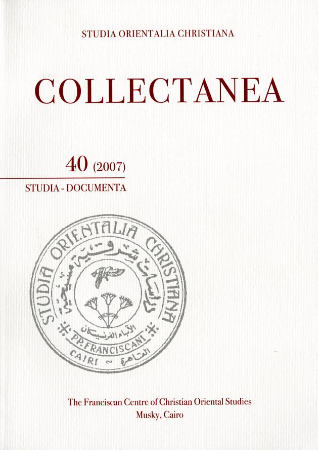 SOC – Collectanea 40 (2007)