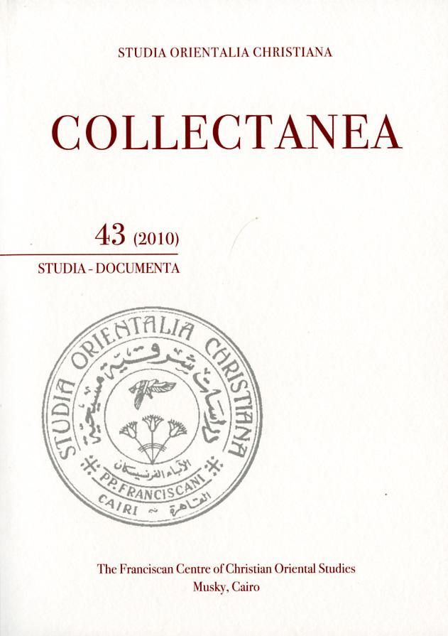SOC – Collectanea 43 (2010)