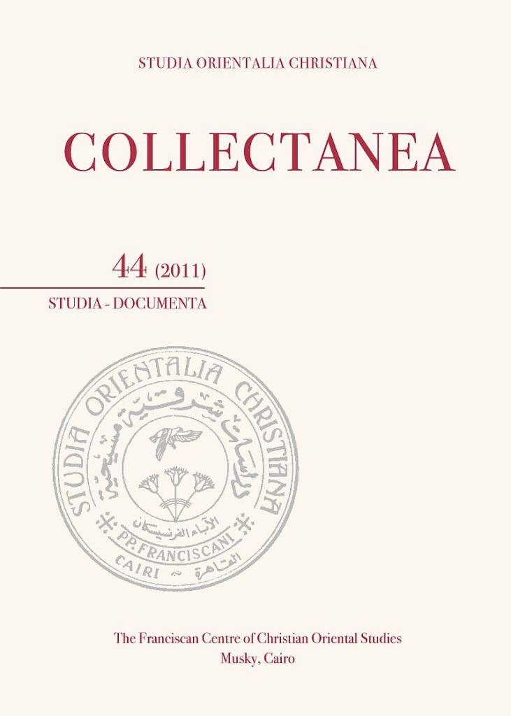 SOC – Collectanea 44 (2011)