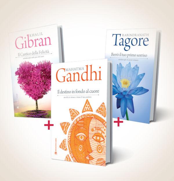 """Offerta speciale """"Saggezza orientale"""" - Mohandas Karamachand Gandhi, Khalil Gibran, Rabindranath Tagore"""