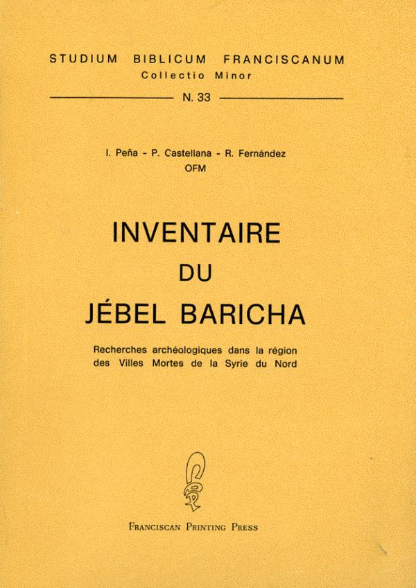 Inventaire du Jébel Baricha - Pasquale Castellana, Romualdo Fernández, Ignacio Peña