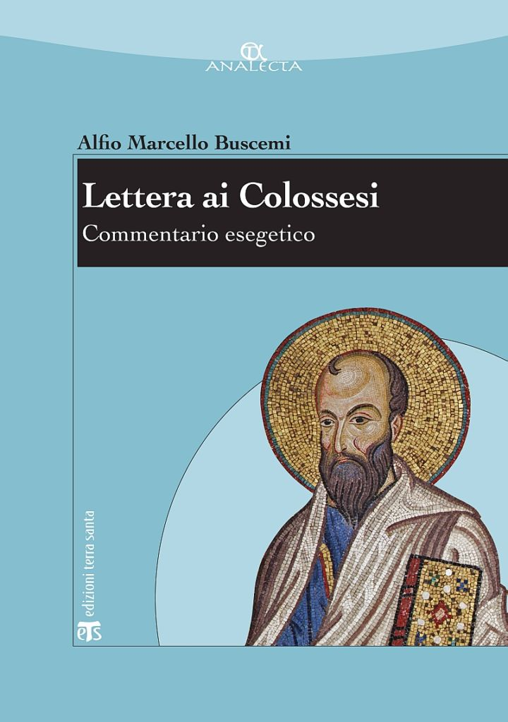 Lettera ai colossesi - Alfio Marcello Buscemi
