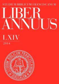 Liber Annuus LXIV-2014
