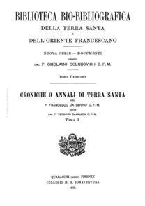 Biblioteca bio-bibliografica/serie II (Documenti) – tomo XI