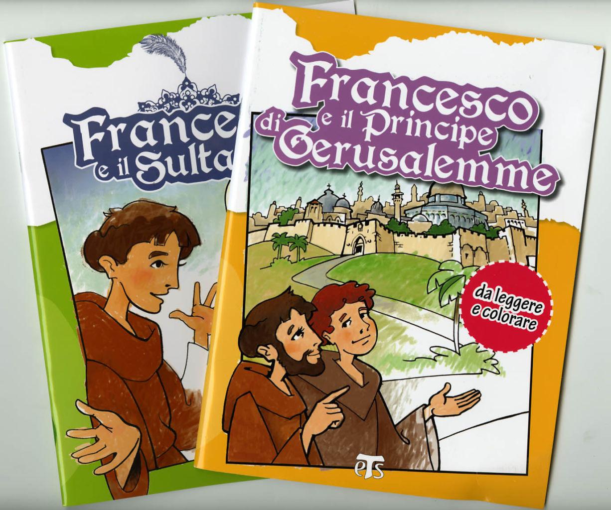 Offerta san Francesco da colorare - Ivano Ceriani