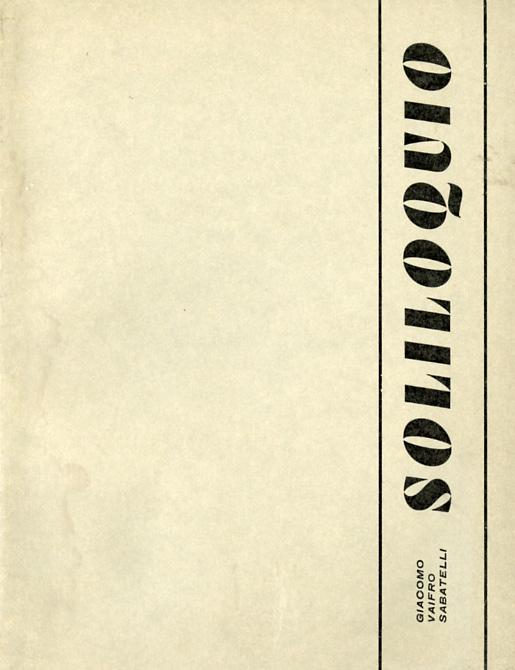 Soliloquio - Giacomo Vaifro Sabatelli