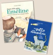 Storia della gatta Eméline + Un gatto nella Mangiatoia - Giuseppe Caffulli