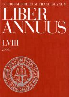 Liber Annuus LVIII-2008