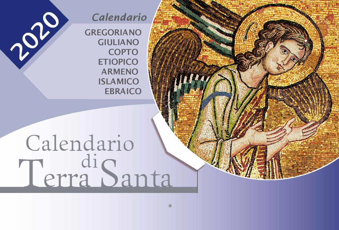 Calendario Pastorale 2020.Calendario Di Terra Santa 2020 Da Tavolo