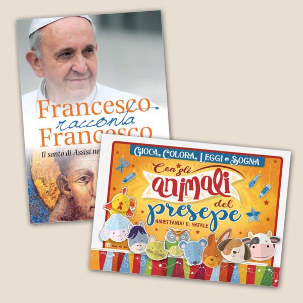 Francesco racconta Francesco + Gioca, colora, leggi e sogna con gli animali del presepe