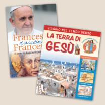 Francesco racconta Francesco + Viaggio nel tempo verso la Terra di Gesù