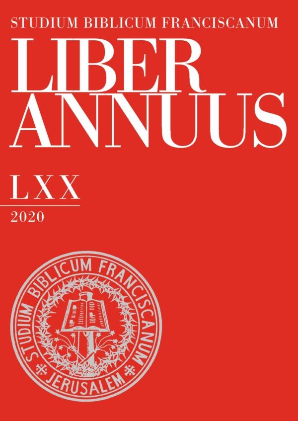 Liber Annuus LXX-2020