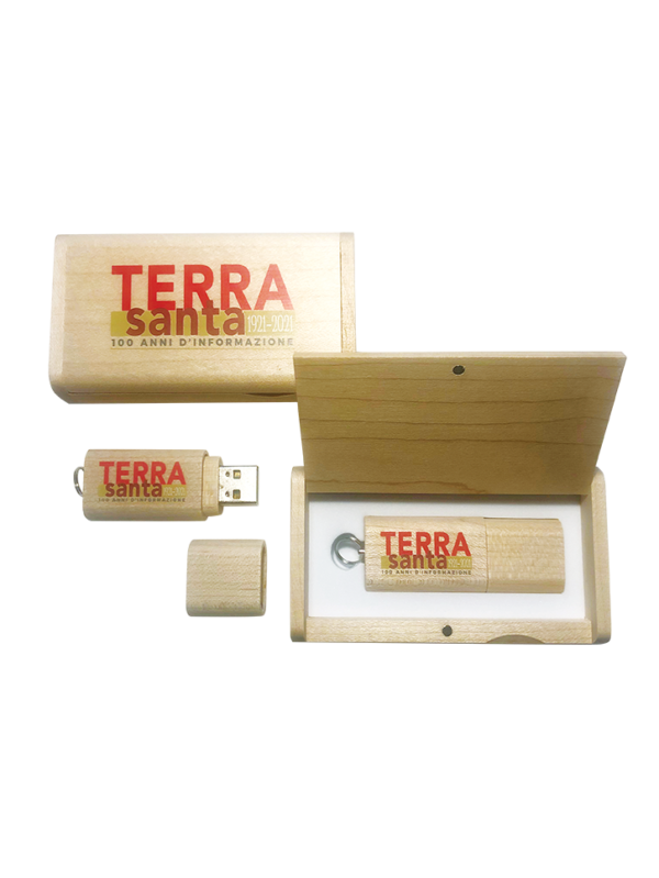 Chiavetta USB Terrasanta archivio storico